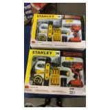 (2) Stanley 65 Pc. Project Kit w/ 20V B&D Drill