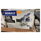 "Kobalt 10"" Sliding Dual Bevel Miter Saw"