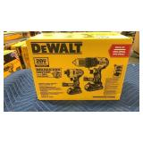 DeWalt 20V Max 2 Pc Tool Kit: Drill Driver& Impact