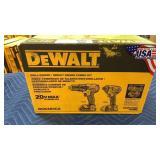 DeWalt 20V Max Drill Driver & Impact Driver Combo