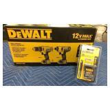DeWalt 12V Max Drill Driver & Impact Driver Combo