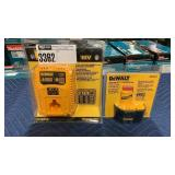 DeWalt 7.2V - 18V Battery Charger & 14.4V Battery