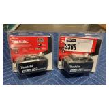 (2) Makita 18V Batteries