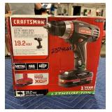 "Craftsman 19.2 V 1/2"" Heavy Duty Drill Driver"