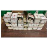 """Lot 20 Boxes Wedge All Wedge Anchors 3/8"""" x Asst"""
