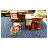 Lot (2) 19.2V Craftsman Tools & 1 Bit Set: