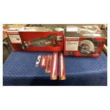 "Lot Craftsman 7 1/4"" Circular Saw & Orbital"