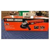 """Black & Decker 8.5 Amp 4 1/2"""" Angle Grinder"""