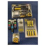 Lot 5 Tools / Sets: Steel Grip 9-pc Homeowners Set