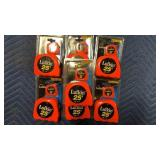 Lot 7 Lufkin 2-pk Tape Measures, 25