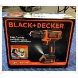 Black & Decker 12 Volt Lithium Drill Driver