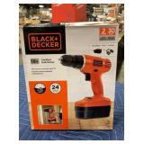 Black & Decker 18 Volt Cordless Screwdriver