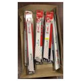 Lot Milwaukee Torch Sawzall Blades,