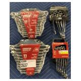Lot 4 Ace Combination Wrench Sets