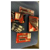 Lot 5 Craftsman Tool Sets: 9-pc Combination