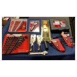Box 10 Craftsman & Irwin Tools & Sets: 15pc