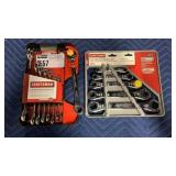 Lot 2 Sets Craftsman Wrenches, 8 pc Dual