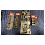 Lot 7 Craftsman Socket & Wrench Set: (1) 9-pc