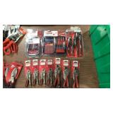 Lot 3 Craftsman Tool Sets & Loose Locking Pliers:
