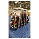 Lot 5 Lufkin Tape Measure Packs, 16