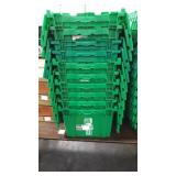 Lot 10 Green HD Flip Top Totes