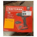 "Craftsman 1/2"" V-20 Drill Driver, No Charger"