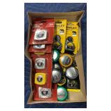 Lot  Asst Stanley & Ace Pocket Tape Measures
