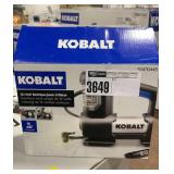 Kobalt 12 Volt Multipurpose Inflator, Condition