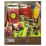 Lot Box Asst Finishing Disks, Drum Sander