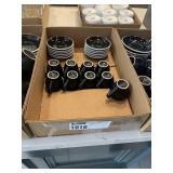 Lot Flat Small Espresso Mugs & Saucers