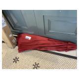 Wine Colored Patio Umbrella in Box