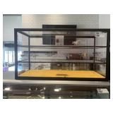 """3-Tier Dry Glass Cookie Display, Approx 42""""x23""""x17"""
