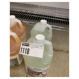 Lot 2 Bottles Liquid Dish Machine Detergent