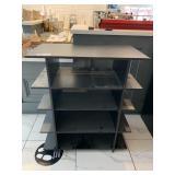 Black 5-Tier Display Shelf