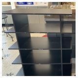 Black 5-Shelf Display
