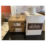 Lot 3 Boxes Asst. Count White Coffee Cups