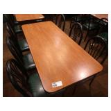 """30"""" x 72"""" Rect. 6-Top Table w/ Cherry Field"""