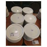 Lot Approx 150 Plastic Dinner Plates