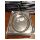 17 Half Pan Oval Recessed Pans