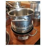 4 Asst S.S. Pots & Pans