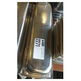 """6 S.S. 2"""" Long Half Pans"""