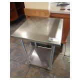 """24"""" x 24"""" Stainless Steel Table"""