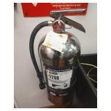 Badger Chrome Fire Extinguisher