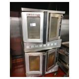 2 Blodgett Gas Convection Ovens on Wheels
