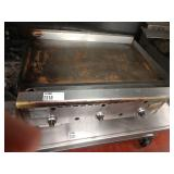 """Rankin Delux Tabletop 36"""" Gas Griddle"""