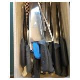 Lot Asst Carving Knives