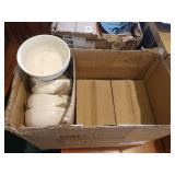 Lot 24 White Soup Bowls
