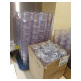 1 Lot Approx 230 Clear Plastic Cambro Drink