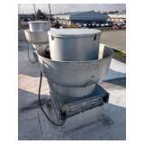 Captive Aire Mushroom Exhaust Fan, Model NCA16HPFA