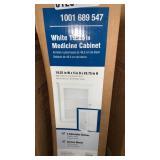 "White Wall Mount 19.25"" Medicine Cabinet"